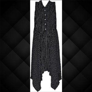 Melonie Maxi Striped Dress Size 16W